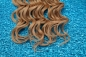 Preview: Extentions 100% Echthaar #27 Dunkel-BLOND 50 cm French Bulk   Organics