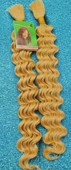 Extentions 100% Echthaar  #22 BLOND und 50 cm lang French Bulk