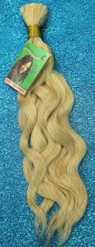 Extentions 100% Echthaar in #613 Hell BLOND 40 cm Brazilian Hair Wave Bulk