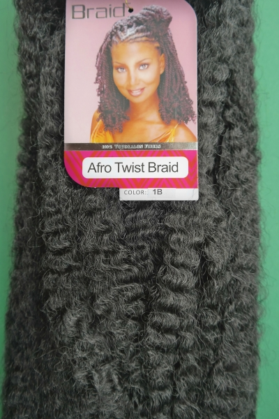 Royal Silk  Marley braids / Afro twist braid-Crochet braids No.1B